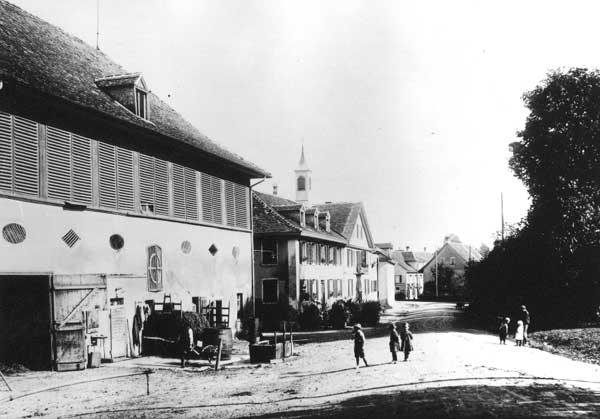 Greuterhof um 1800